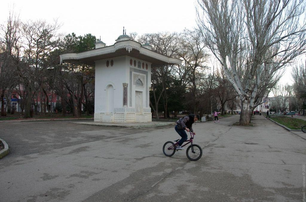 Феодосия, Фонтан Айвазовского