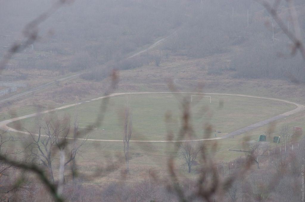 Стадион в воинской части