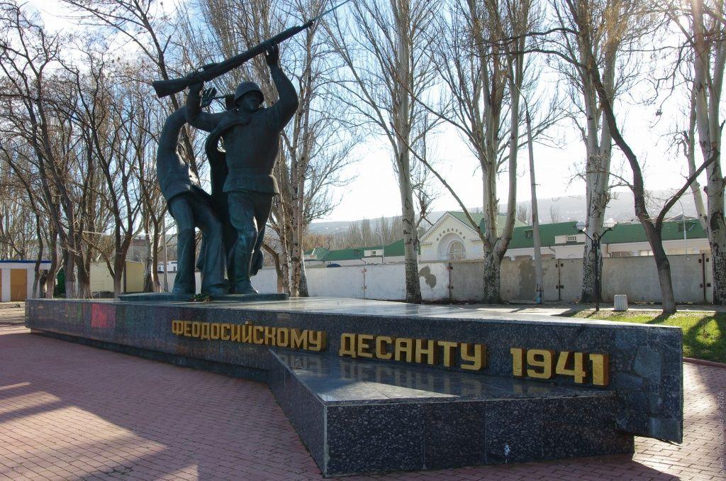 Памятник воинам героического Керченско-Феодосийского десанта