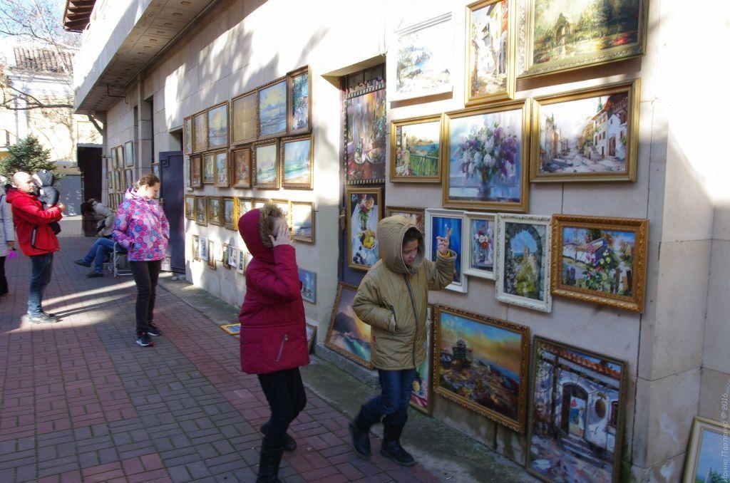 Феодосия, картины местных художников
